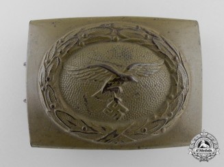 A Luftwaffe Tropical Enlisted Man's Belt Buckle by Noelle & Hueck; Published Example