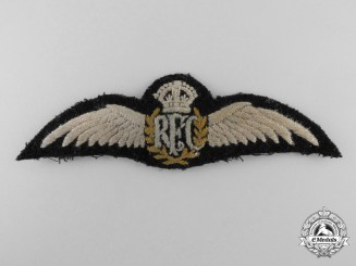 A Second War Issued Royal Flying Corps Veteran's Pilot Wing