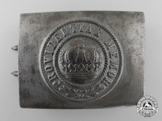 A 1916 Pattern Army (Heer) Enlisted Man's Belt Buckle