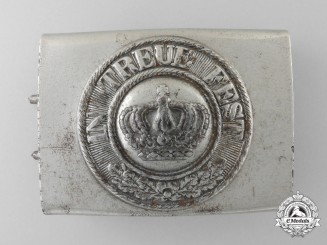 A 1916 Pattern Bavarian Army (Heer) Enlisted Man's Belt Buckle