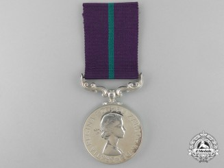 A New Zealand Colonial Meritorious Service Medal