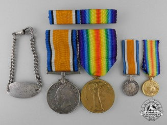A First War Medal Pair to the New Zealand Expeditionary Force