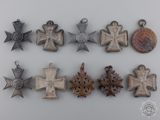 Miniatures Recovered from the Bombed Zimmermann Factory