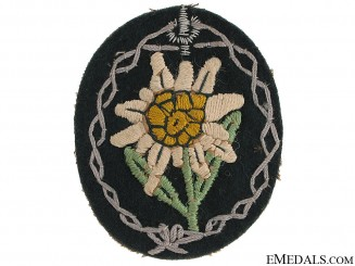 Mountain Troops Sleeve Edelweiss
