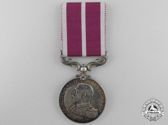 A Rare Royal Naval Meritorious Service Medal for Canada Services During the War