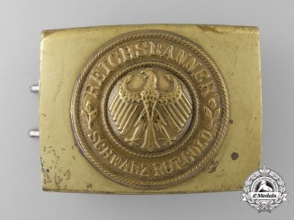 A Weimar Republic National Banner Youth (Reichsbanner Youth) Belt Buckle