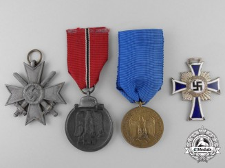 Four Second War Period Medals & Awards