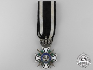 A House Order of Hohenzollern; Knight's Cross with Swords