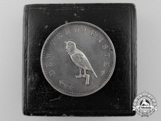 A 1915 Berlin Canary Breeder and Bird Protection Association Merit Medal