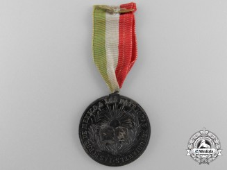 An 1884 Mexican Patriotic Student's Medal