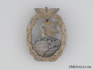Naval Auxiliary Cruiser War Badge, Foerster & Barth