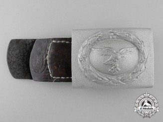 A 1938 Pattern Enlisted Man's/NCO's Belt Buckle to the Luftwaffe Clothing Department