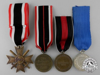 Four Second War German Medals and Awards