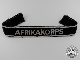 A Scarce First Type Afrika Campaign Cufftitle