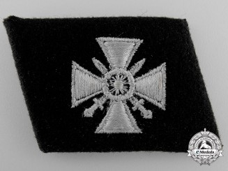 A Collar Tab of the 29th. Waffen-SS Grenadier Division (Russische nr.1)