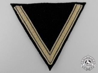 An SS- Sturmmann's Tropical Rank Chevron
