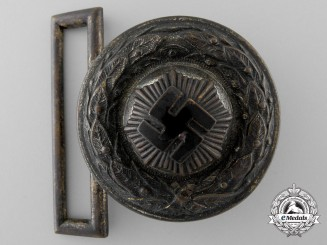 A 3rd Pattern Air Raid Protection League Officer's Belt Buckle