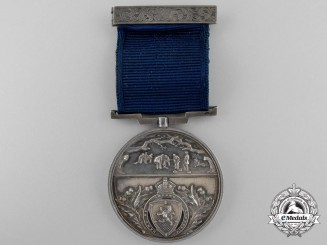 A Royal Caledonian Curling Club District Medal