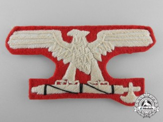 A Waffen-SS Italian 29TH Grenadier Division Sleeve Eagle