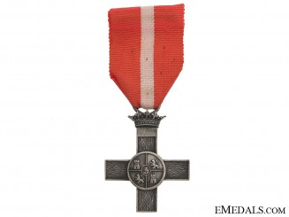 Order of Military Merit - Silver Cross with Red Distinction