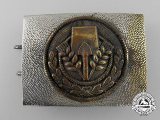 A Volunteer Labour Service (FAD = Freiwilliger Arbeitsdienst) Belt Buckle; Published Example