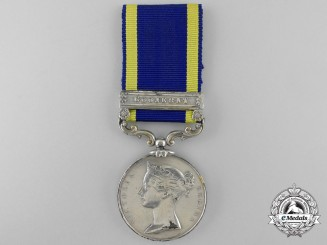 A Punjab Medal 1848-49 to the 53rd Regiment of Foot