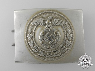 A National Socialist Motor Corps Enlisted Man's Belt Buckle