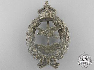 A First War Prussian Pilot's Commemorative Badge by Juncker; Published Example