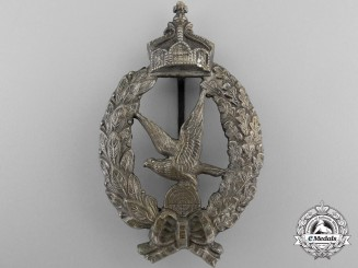 A German Imperial Air Gunner's Badge; Published Example