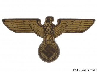 Political Cap Eagle - 1939 Pattern