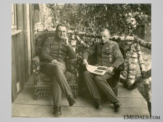 Private Photo of German Observers