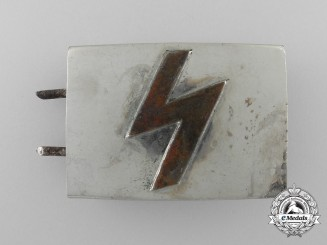 A German Youth Belt Buckle; Reduced Size & Published