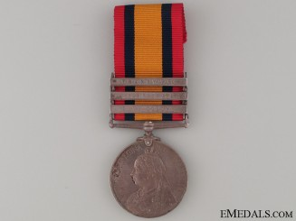 Queen's South Africa Medal - K.O. SCOT: BORD
