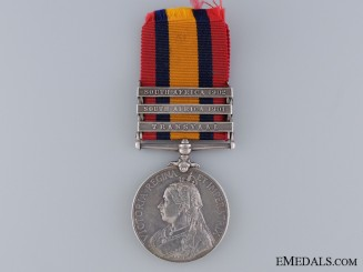 Queen's South Africa Medal to the Manchester Regiment