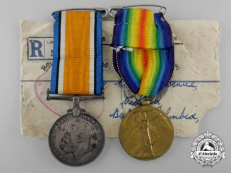 A First War Pair to Miss Baldwin of the Queen Mary's Army Auxiliary Corps