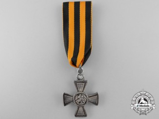 An Imperial Russian Order of St.George for Military Merit; Silver Cross