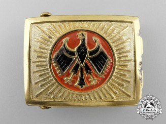 A German National Banner Youth (Reichsbanner Youth) Belt Buckle
