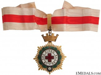 Red Cross Honor Decoration - 1st Class