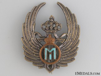 Romanian WWII Michael Cypher Observer Badge