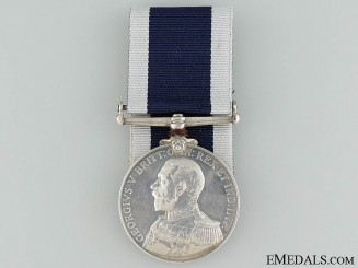 Royal Naval Long Service and Good Conduct Medal to the HMS Thistle