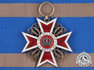 1910 Romanian Order of the Crown; Grand Cross, Type I