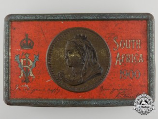 A Boer War Fry's Queen Victoria Christmas/New Years' Gift Tin