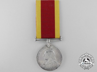 A China War Medal 1900 to Able Seaman A.H. Skuse; H.M.S. Undaunted