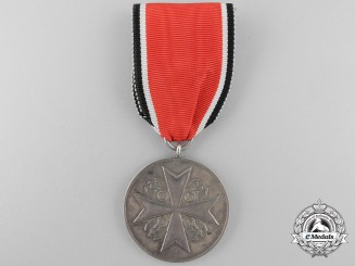 "An Order of the German Eagle; Merit Medal in Silver, marked ""835 PR. MÜNZE BERLIN"""