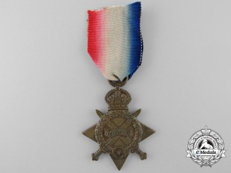 A 1914-15 Campaign Star to the Durham Light Infantry