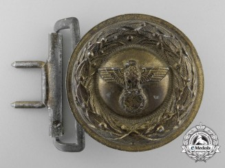 A German Penal Institution Administration Official's Belt Bucklel Type II
