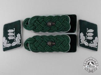 A Forstmeister of the General State Forestry Service Insignia Set