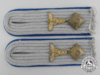 A Set of Army Administrative Official's Shoulder Boards
