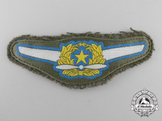 A  Second War Japanese Air Force Pilot's Breast Wing