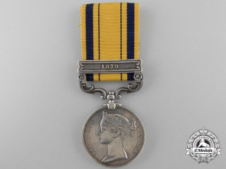 A South Africa Medal 1877-1879 to the 1st Battalion; 24th Regiment of Foot